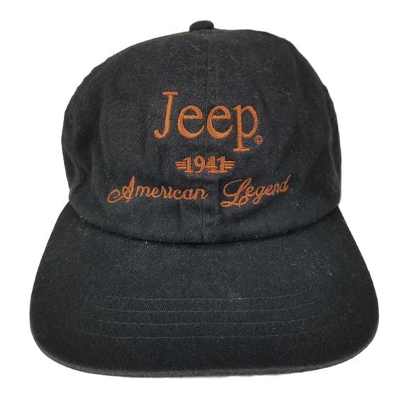 2668066d JEEP American Legend Slouch Strap Back Dad Hat Cap